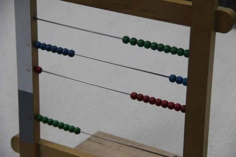 small bead frame random quantities