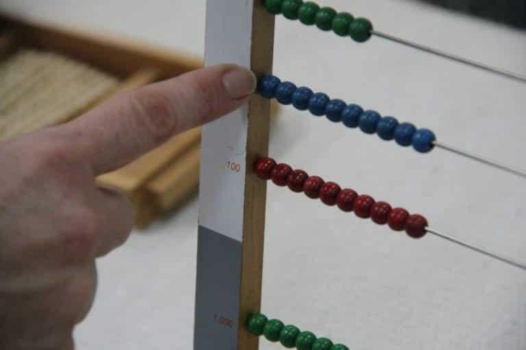 Small Bead Frame Tens
