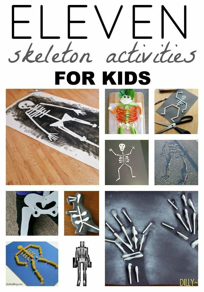 Skeleton Activities for Kids