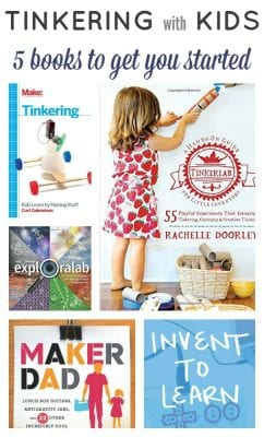 Tinkering Collage Text