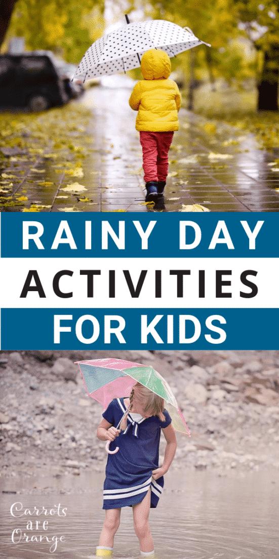 Super Fun Rainy Day Activities for Kids