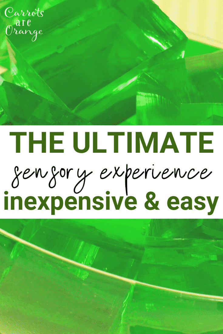 The Ultimate Sensory Experience with Gelatin
