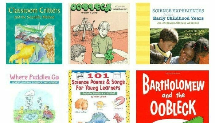 early childhood science books feature