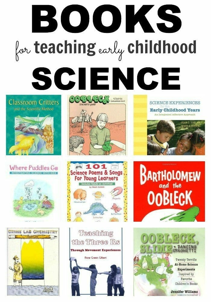 Early Childhood Science Books Pinterest