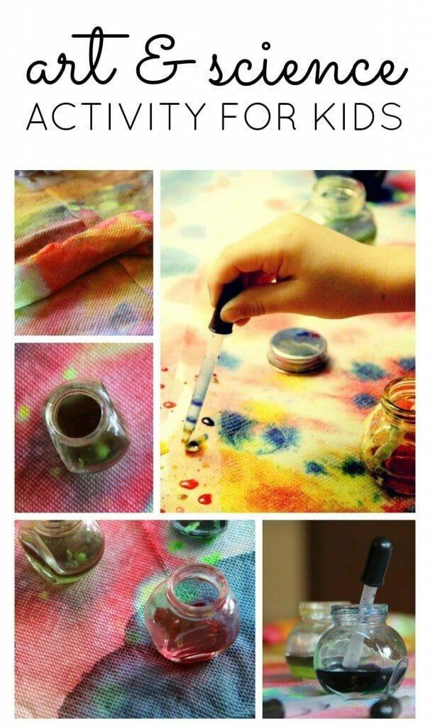 Easy Process Art Activity for Toddlers and Prescoolers