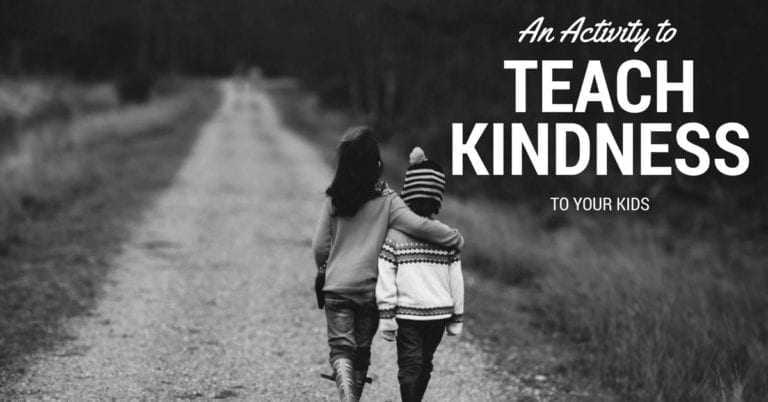 Learn a fun, easy, and calm kindness activity for kids.
