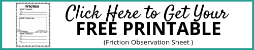 Friction Observation Sheet Opt-In