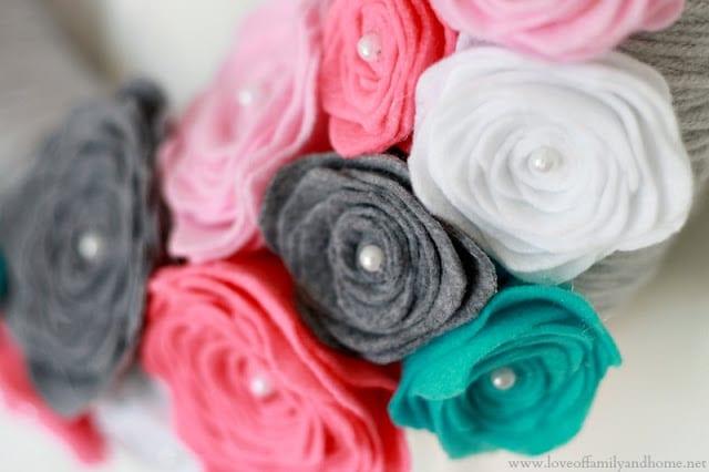 Rose Crafts for Kids - Felt Rose