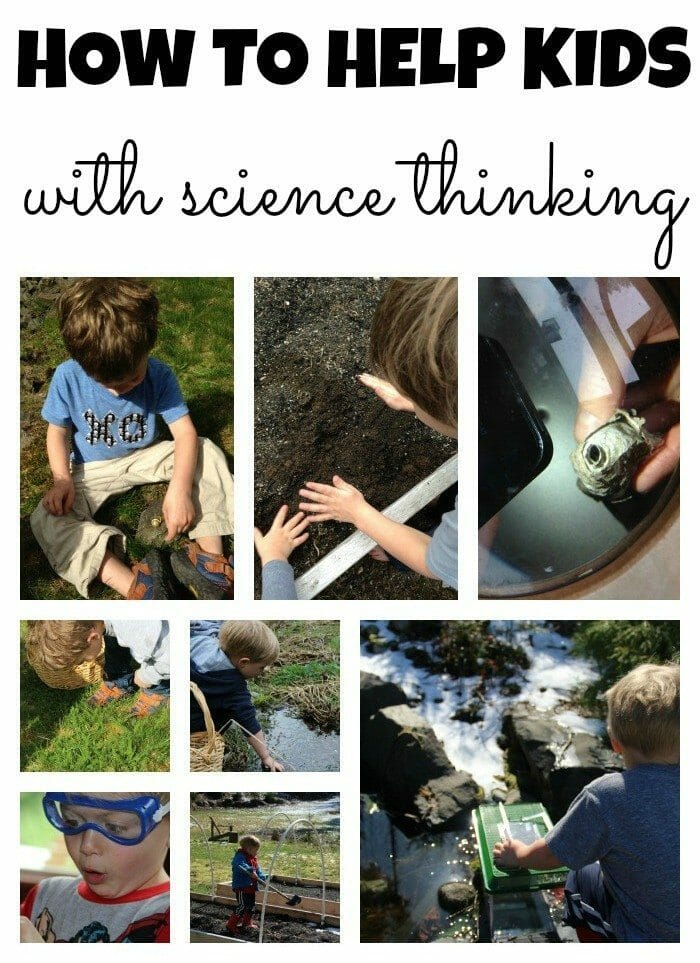 Science Thinking Collage