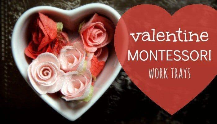 montessori valentines activities