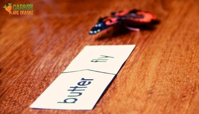 compound words activity for kids