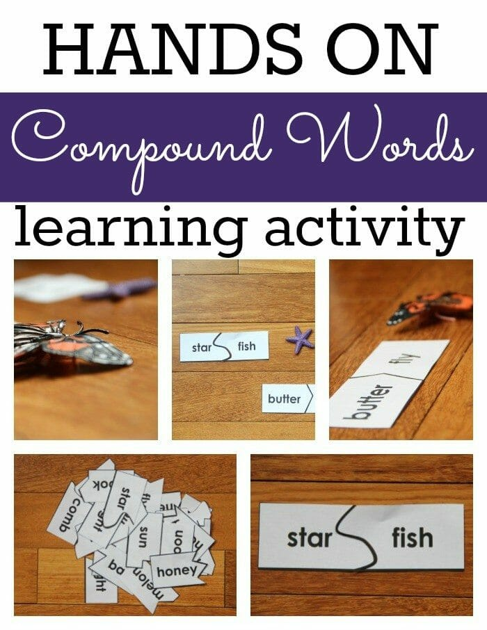 Compound Words Activity Collage