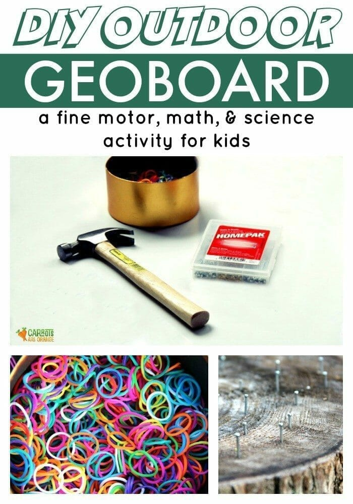 Make a Geoboard with Your Kids