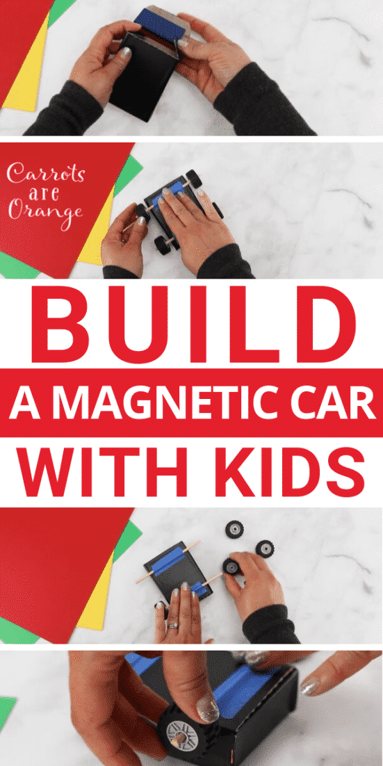 How to Build a Magnetic Car with Kids