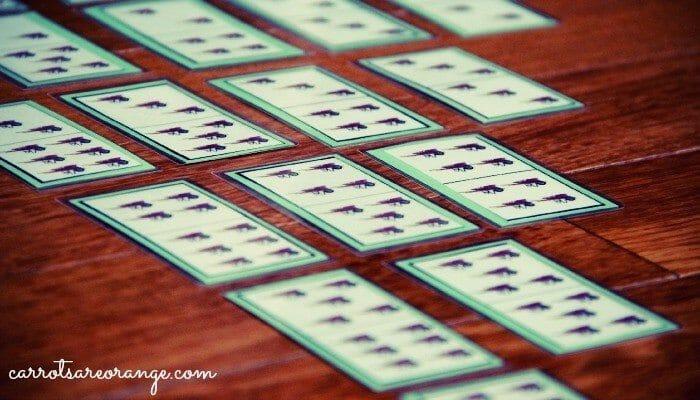 Dominoes with Preschoolers
