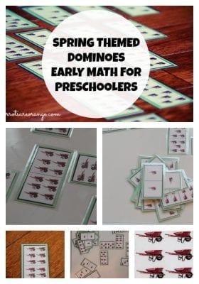 Dominoes Activity for Preschoolers