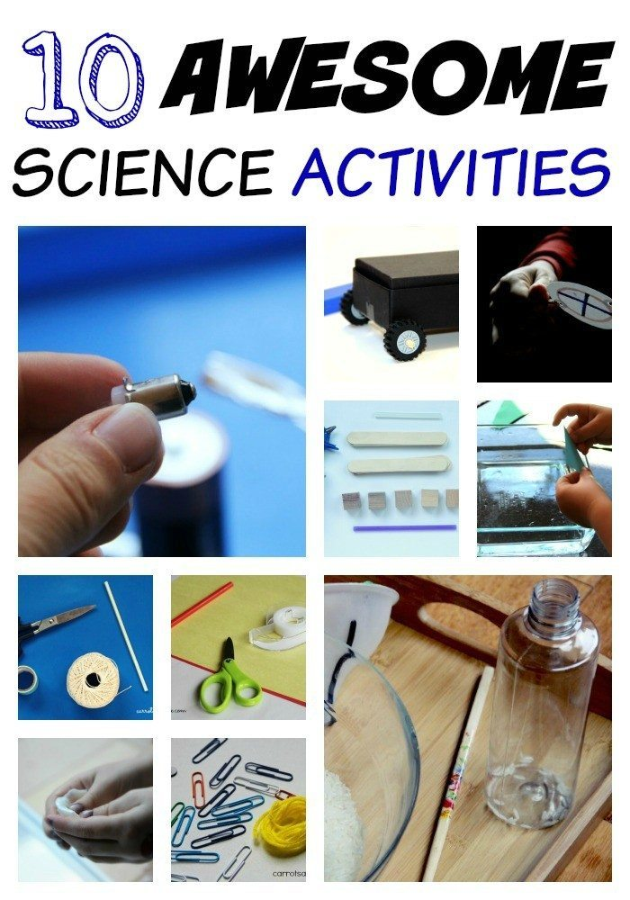 Science Experiments for Kids - 10 Awesome Science Activities for Preschoolers