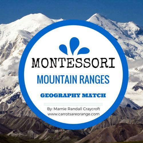Mountain Ranges Geography Match