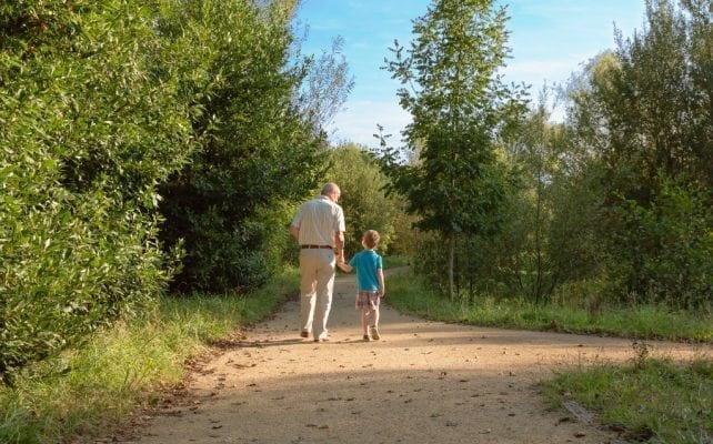 Nature Walk with Kids