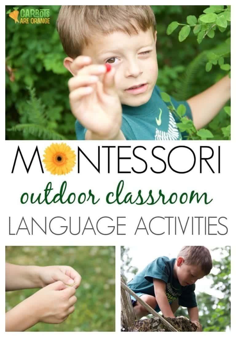 Take Montessori Outside