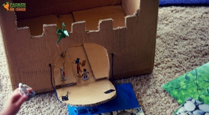 Knights Cardboard Castle