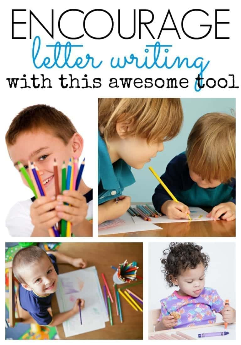 Encourage Letter Writing with this Tool