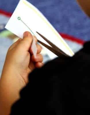 Scissor Cutting Strips