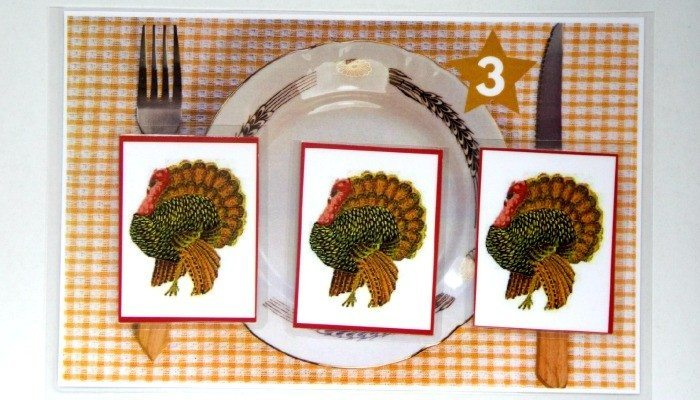 TURKEY MATH COUNTERS FEATURE