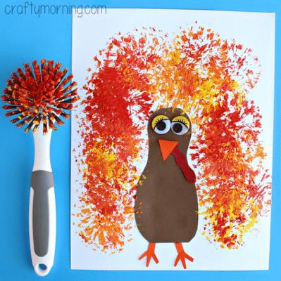 montessori thanksgiving activities process art