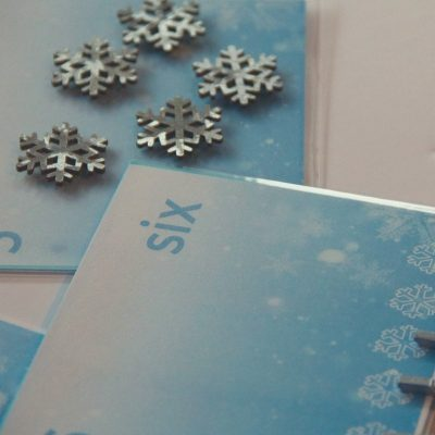 montessori winter cards and counters