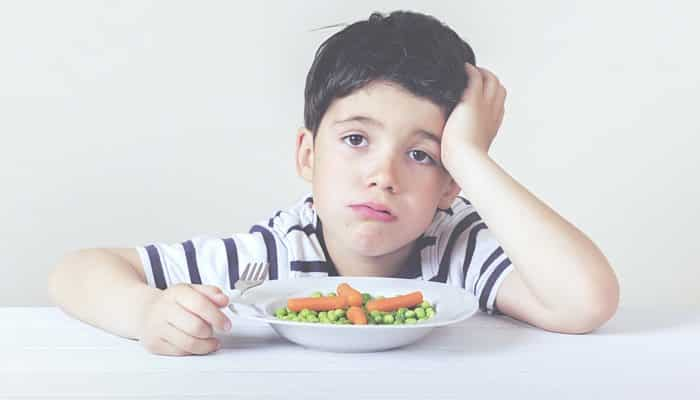 Encourage a Child New Food Feature