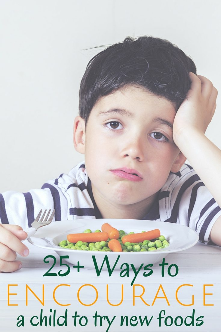 Encourage a Child New Food