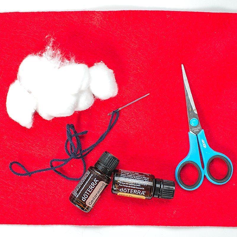 Heart Felt Pillow Sewing Materials valentine practical life