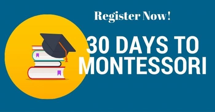 Bring Montessori into your Home Today!