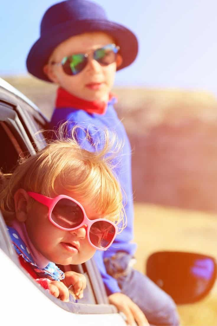 how to get kids to behave in the car