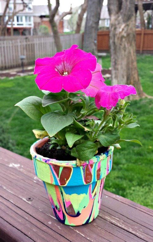 DIY Flower Pot for Mother's Day