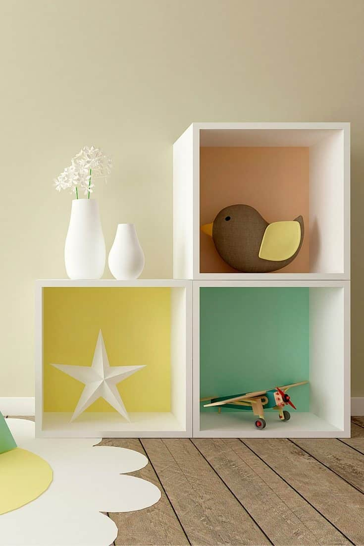Montessori bedroom feature