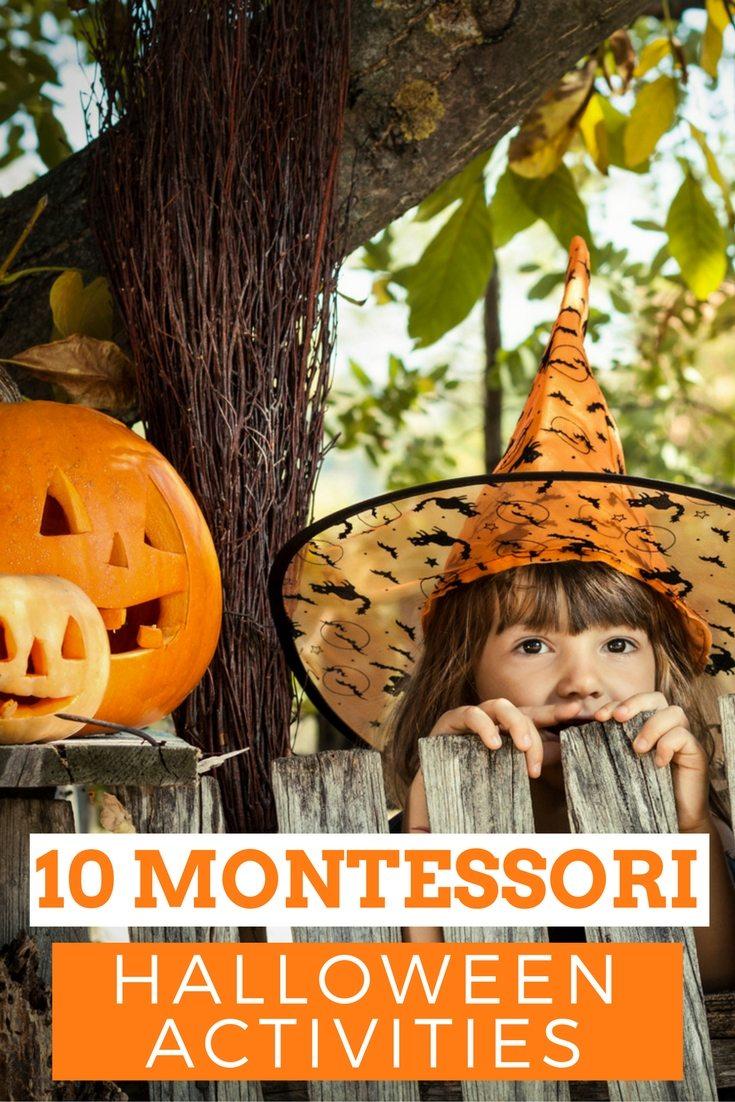 10 HALLOWEEN MONTESSORI ACTIVITIES