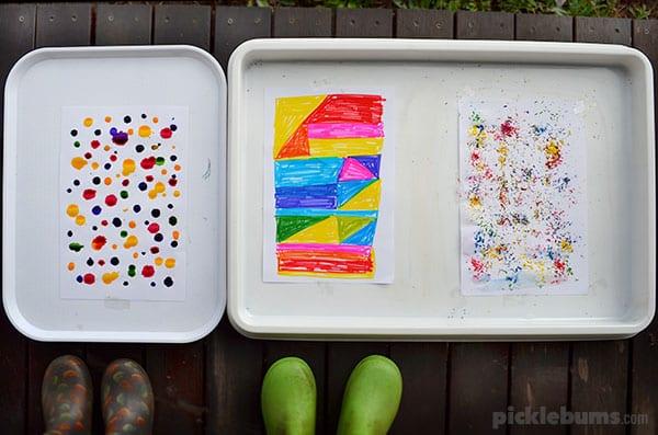 Art Activities with Water
