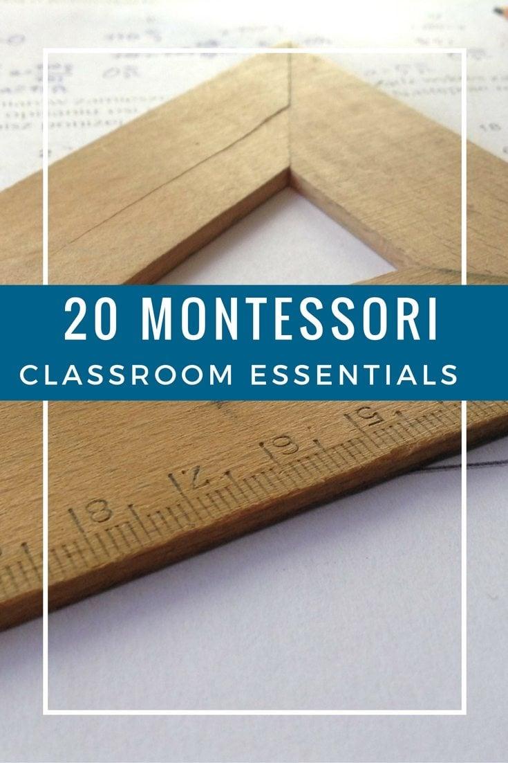 Top Montessori Classroom Essentials
