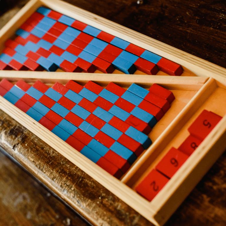 Montessori Math Number Rods