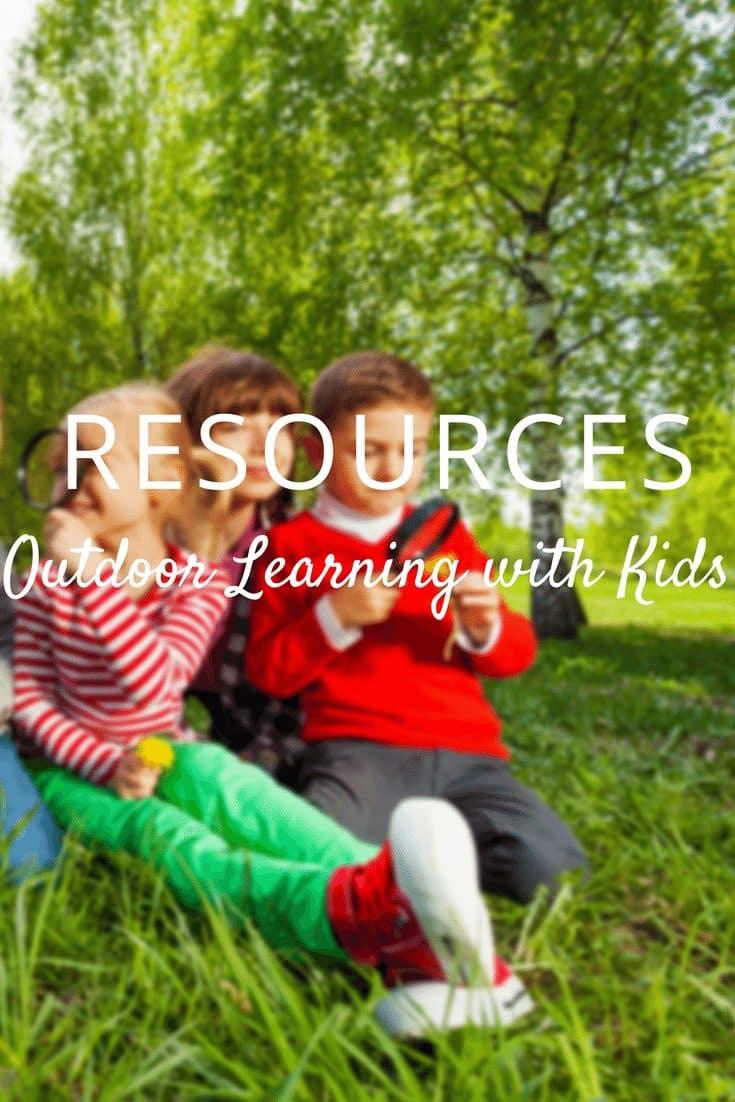 Outdoor Learning Activities & Outdoor Classroom Resources