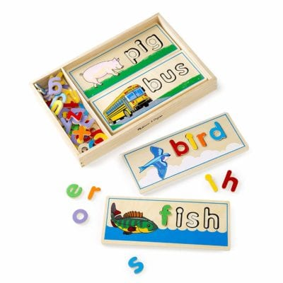 Montessori Deals - February 2019 - Melissa & Doug See & Spell Wooden Toy
