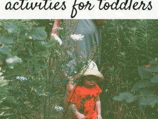 Creative Inexpensive Outdoor Activities for Toddlers