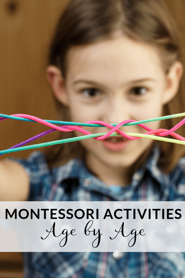 Montessori Activities By Age