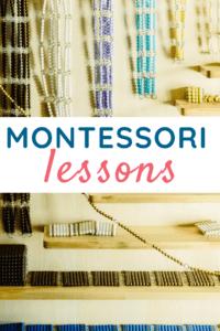 Montessori Lessons Categories