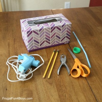 How to Build a Catapult with a Tissue Box