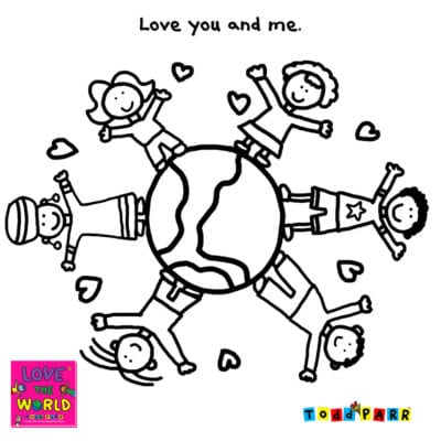 Earth Day Coloring Pages - Todd Parr