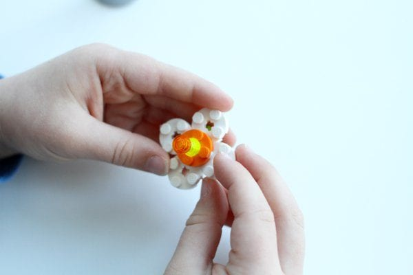 DIY Lego Mother's Day Gift - Simple Flower