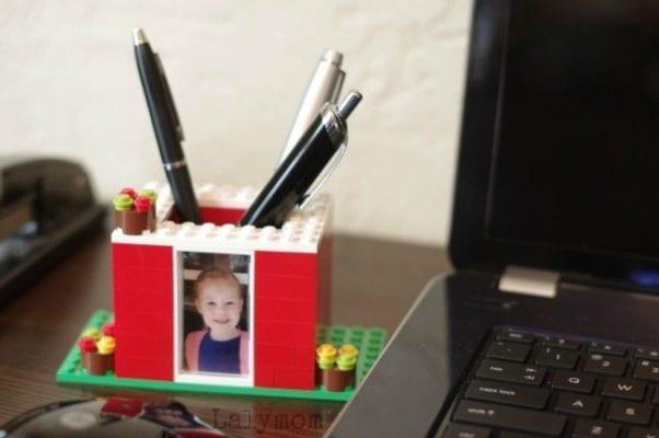 DIY Lego Pen Holder for Mother's Day